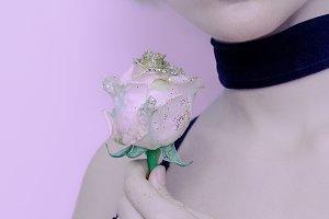 necklace velvet Choker Girl