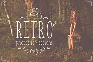 Professional Retro Actions / Filters