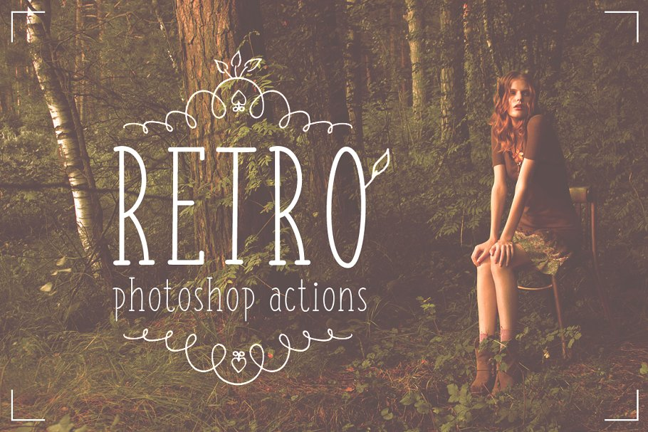 Professional Retro Actions / Filters ~ Photoshop Add-Ons