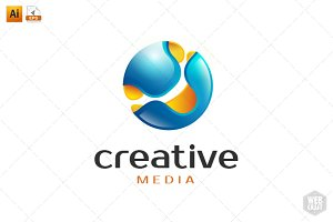 Creative Media Logo Template