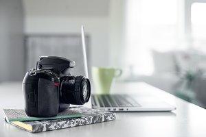 Camera and Desk 3