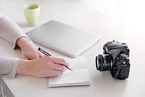 Camera and Desk 4