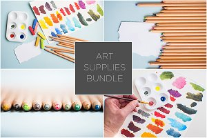 Art Supplies Bundle