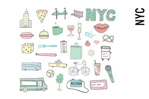 New York City Doodles