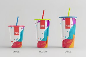 Drink Cups Mock-Up