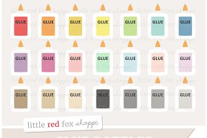 Glue Bottle Clipart