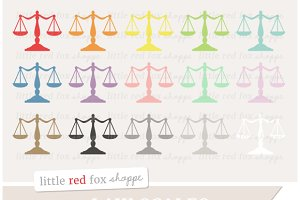 Law Scales Clipart