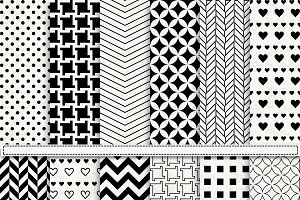 Black & White Digital Paper