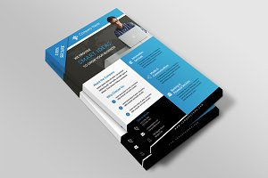 Corporate Flyer Template-V493