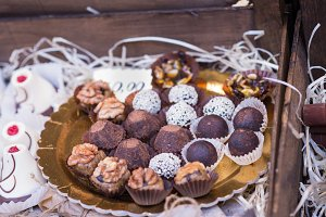 delicious mouthwatering chocolates