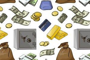 finance symbols pattern