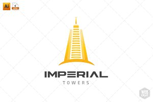 Imperial Real Estate Logo Template