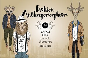 Safari city collection