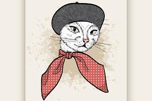 cat woman face
