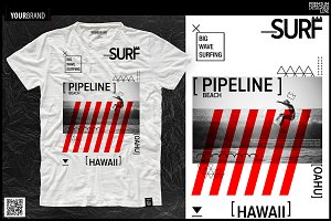 Surf Themed T-Shirts