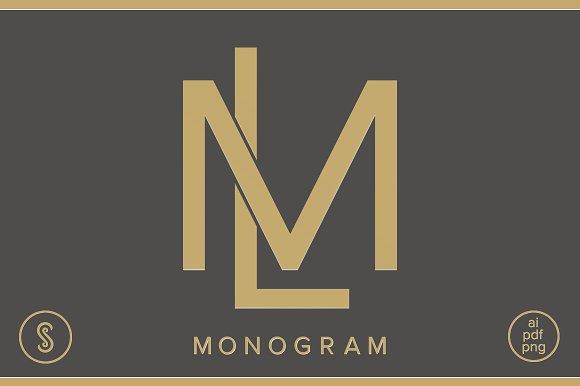 LM Monogram ML Monogram