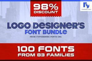 Logo Designer's Font Bundle