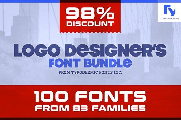 Logo DesignerЎЇs Font Bundle