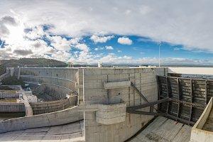 Pano View of Alqueva Reservoir