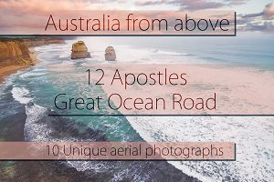 10 Aerial Photos of Great Ocean Road