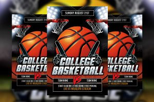 College Basketball Flyer v2