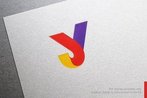 Color Letter Y Logo