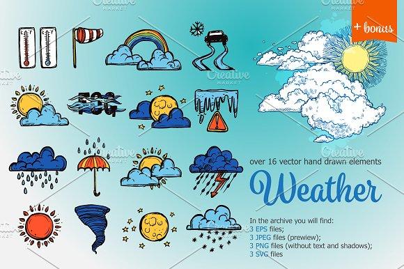 Weather Sketch Set