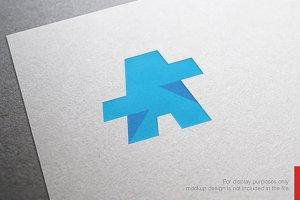 Color Letter A Logo