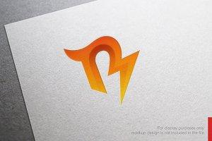 Color Letter R Logo