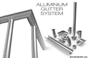 Aluminium Gutter System