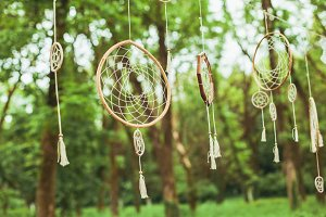 Dream catcher decor