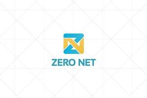 Zero Net Letter Z Logo