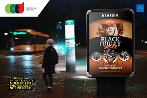 Black Friday Bus Stop Billboard 1