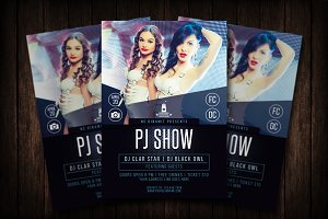 PJ Show Flyer Template