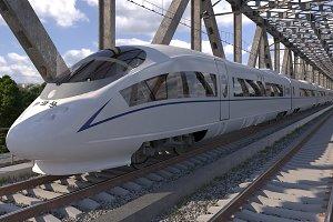 Hi-speed Train Siemens Velaro CRH