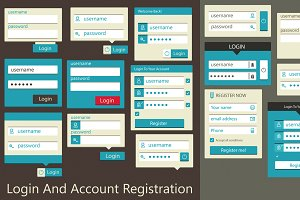 Login And Account Registration
