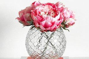 Flower Vase On Books