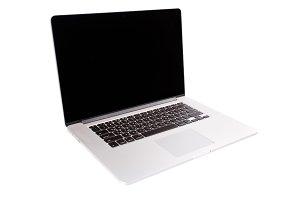 New shiny Mac Book Pro laptop