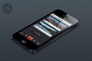 iPhone App Template No. 1