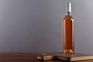 Rose wine on board