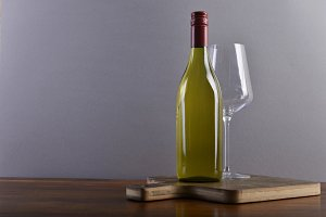 White wine on board