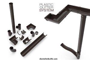 Plastic Gutter System
