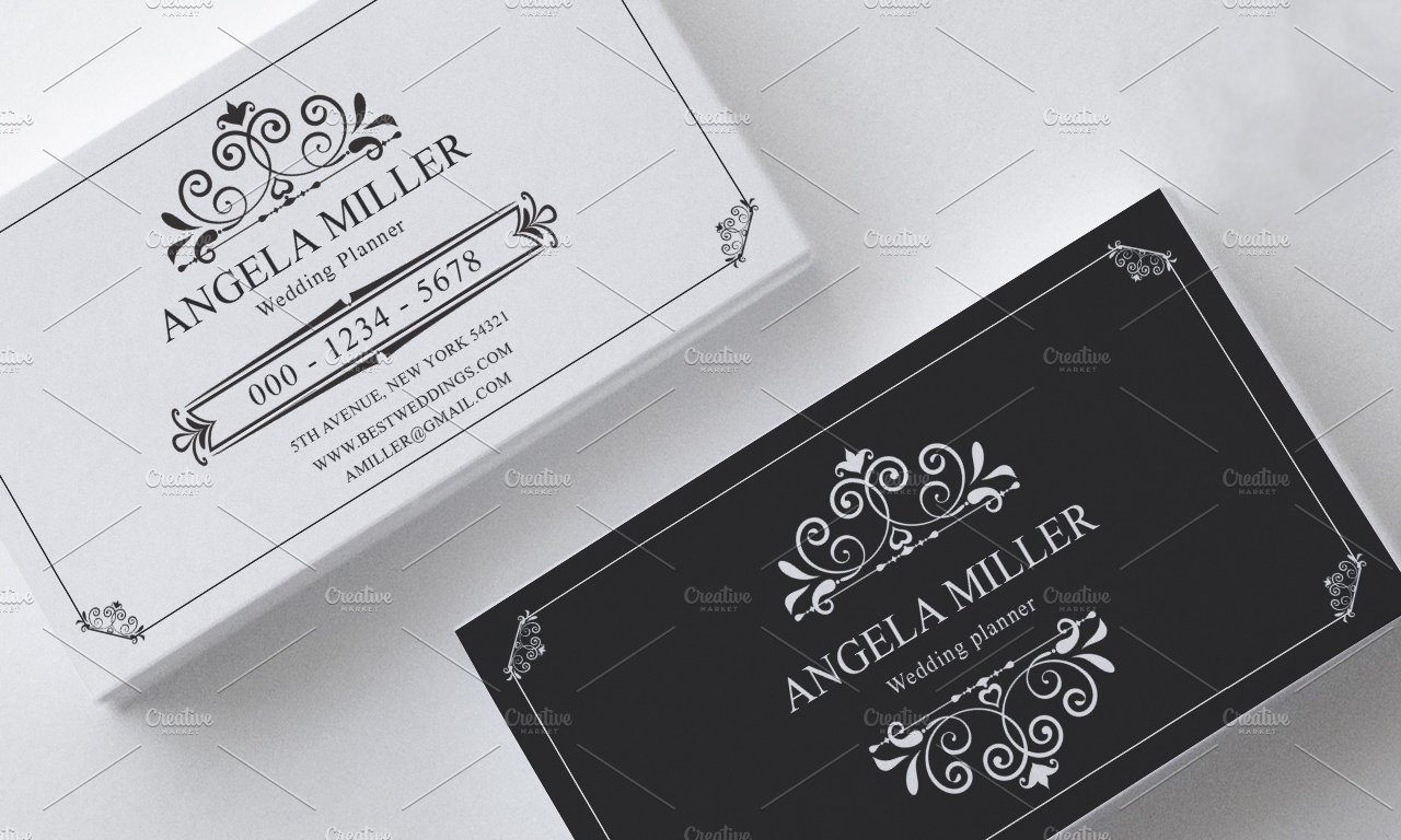 Elegant vintage business card ~ Business Card Templates ~ Creative ...
