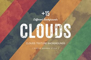 Clouds Texture Backgrounds