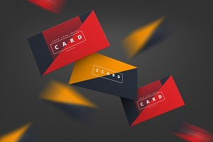 Business Card Mockup 7