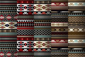 5 Geometric Ethnic Patterns