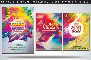 Colorful Flyers Bundle Vol. 4