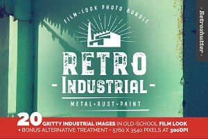 Industrial Film-look Photo Bundle