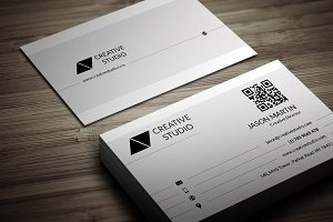 Clean & Flat Business Card