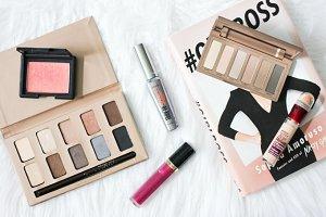 Beauty Blogger Flatlay